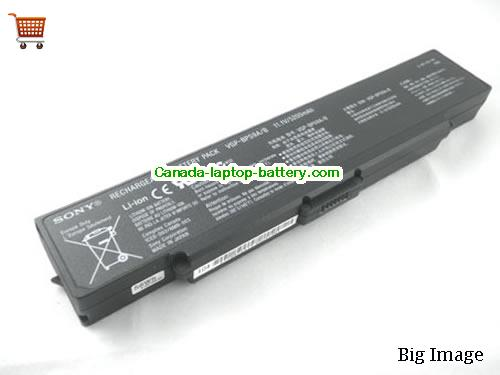 SONY VGP-BPS9/B Battery 4800mAh 11.1V Black Li-ion