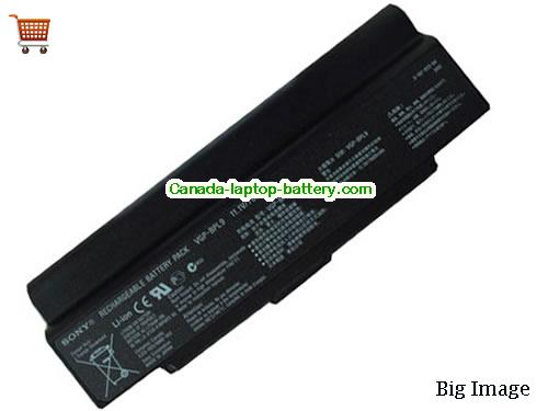 SONY VGP-BPS9/B Battery 7800mAh 11.1V Black Li-ion