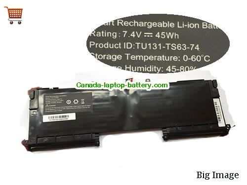 Canada Original Laptop Battery for  HASWELL Y33,  Black, 45Wh 7.4V