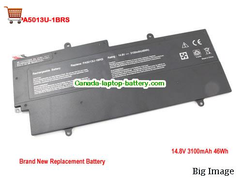 Canada Toshiba PA5013U-1BRS Battery For Portege Z830 Z930 Z835 Z935 Series Laptop 47Wh
