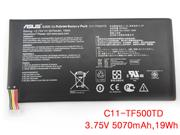 Genuine C11-TF500TD TF500TD battery for ASUS Transformer Pad TF500 in canada