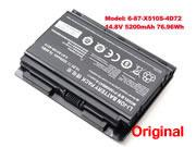 Genuine Clevo 6-87-X510S-4D72 P150HMBAT-8 P150 P150EM PC Battery