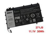 -- Genuine DELL 271J9 11.1V 30Wh Battery