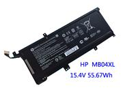 -- Genuine HP TPN-W120 Battery 3470mAh, 55.67Wh , 15.4V, Black , Li-ion