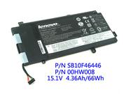 Lenovo ThinkPad Yoga 15 00HW008 00HW009 SB10F46447 PC Battery