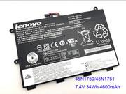 Genuine Lenovo ThinkPad Yoga 11E Laptop Battery 45N1750 45N1751