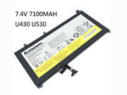 -- New Genuine L12L4P62 Battery Fro Lenovo  Ideapad U430 U530 Touch Laptop