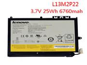 Genuine Lenovo MIIX2 10 Inch Laptop Battery L13M2P22 L13N2P21