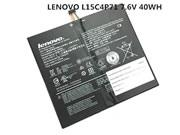 Genuine LENOVO L15L4P71 5B10J40259 Battery 40Wh, 7.6V, Black , Li-Polymer