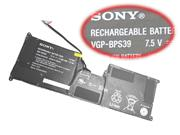 Sony VGP-BPS39 Battery 29wh 7.5V 3800mah