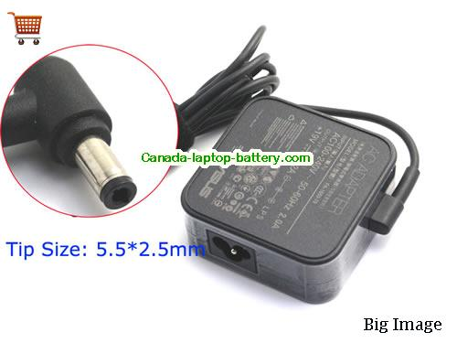 Canada Genuine 19V 3.42A Charger AC Adapter for ASUS VivoBook S500 S500CA EXA1203YH P550C P550CA-XX91G Power supply