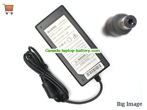 Canada 40W Replacement Power Adapter for DAJING 24 INCH 5 INCH LCD Monitor Power supply