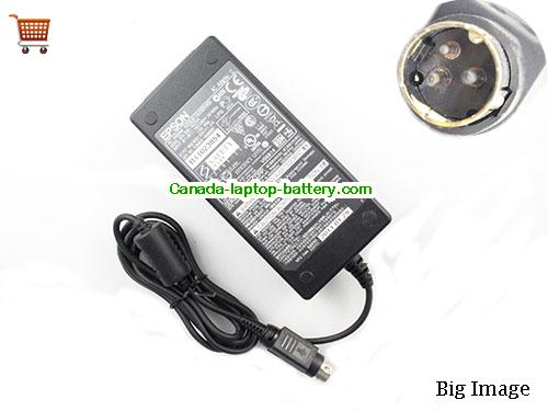 Canada Genuine Epson M235A Ac Adapter 24v 1.5A 36W For POS Receipt printer M188B Power supply