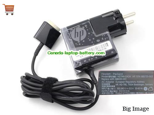 HP HSTNN-LA34 Laptop AC Adapter 9V 1.1A 10W