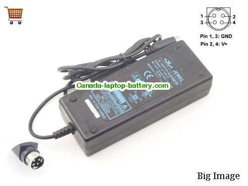 JEWEL JS-12060-3K Laptop AC Adapter 12V 6A 72W