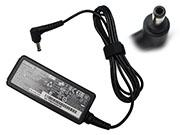 Chicony 12V 3.33A 40W Laptop Adapter, Laptop AC Power Supply Plug Size 5.5 x 2.1mm