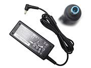 CHICONY 19V 3.42A 65W Laptop Adapter, Laptop AC Power Supply Plug Size 4.5 x 2.8mm