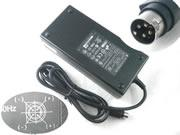 DELTA 12V 12.5A 150W Laptop Adapter, Laptop AC Power Supply Plug Size