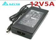 DELTA 12V 5A 60W Laptop Adapter, Laptop AC Power Supply Plug Size 5.5 x 2.5mm