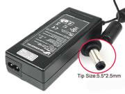 FSP 19V 4.74A 90W Laptop Adapter, Laptop AC Power Supply Plug Size 5.5 x 2.5mm