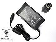 FSP 24V 2.5A 60W Laptop Adapter, Laptop AC Power Supply Plug Size