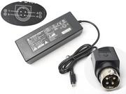 LISHIN 24V 5.42A 130W Laptop Adapter, Laptop AC Power Supply Plug Size