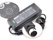 LISHIN 24V 5A 120W Laptop Adapter, Laptop AC Power Supply Plug Size