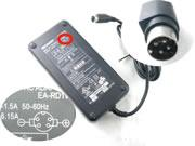 SHARP 19.5V 6.15A 120W Laptop Adapter, Laptop AC Power Supply Plug Size