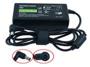 SONY 16V 3.75A 60W Laptop Adapter, Laptop AC Power Supply Plug Size 6.5 x 4.4mm