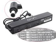 SONY 19.5V 4.7A 92W Laptop Adapter, Laptop AC Power Supply Plug Size 6.5x4.4mm